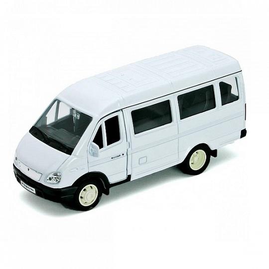 Купить Welly 42387A Велли Модель машины 1:34-39 ГАЗель пассажирская