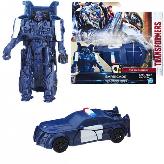 Transformers C0884/C1313 Трансформеры 5: Уан-степ Баррикейд