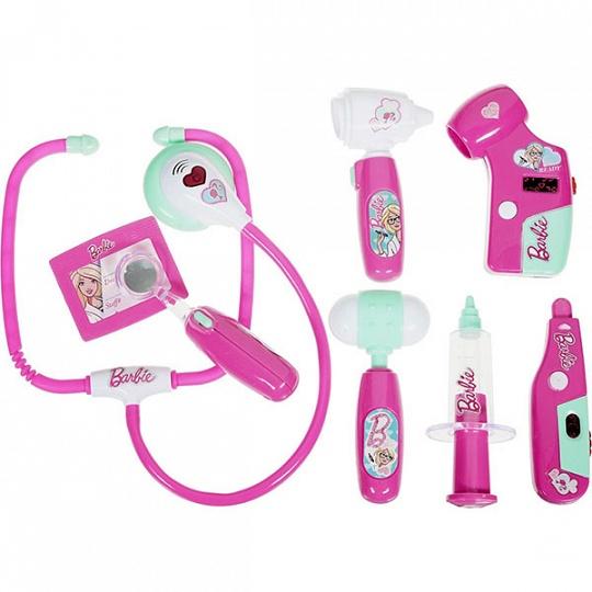 Corpa Игровой набор юного доктора Barbie в чемодане
