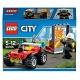 Lego City 60105 Лего Город Пожарный квадроцикл