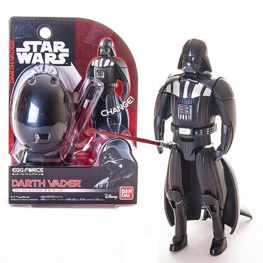 Купить Star Wars Bandai 84545 Звездные Войны Яйцо-Трансформер Дарт Вейдер
