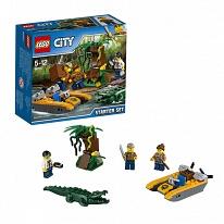 Lego City 60157 Лего Город Набор Джунгли для начинающих