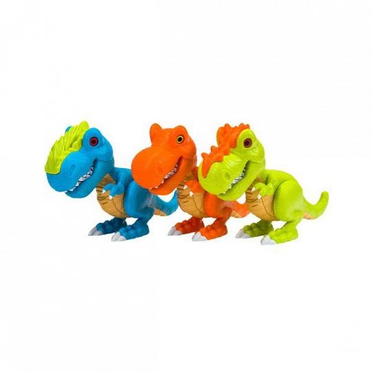Junior Megasaur 80079 Динозавр, 3 в ассортименте, световые и звуковые эффекты