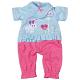 Zapf Creation Baby Annabell 818-091 Бэби Аннабель Комбинезончик 32 см, веш.