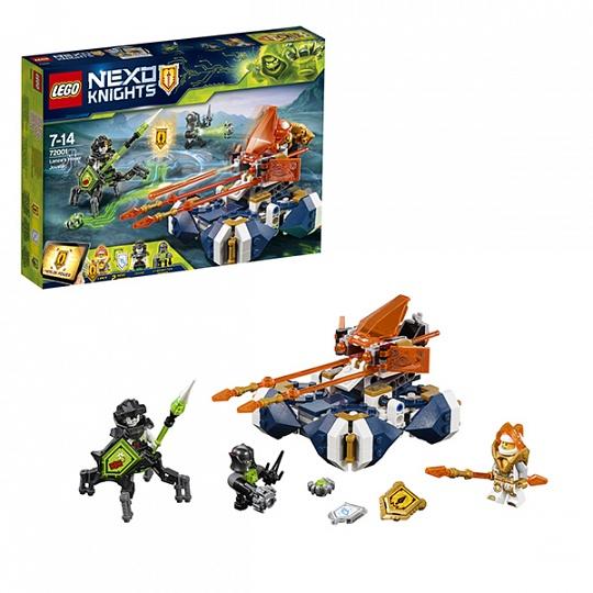 Lego Nexo Knights Летающая турнирная машина Ланса 72001