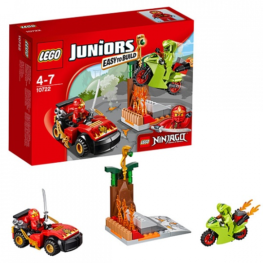 Купить Lego Juniors 10722 Лего Джуниорс Схватка со змеями