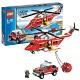 Lego City 7206 Лего Город Пожарный вертолет